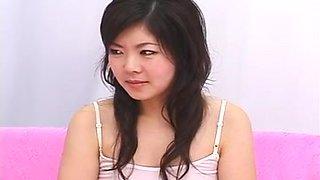 Japanese girl tongue play (5)