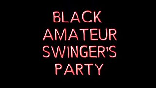 Darksome Non-Professional Swingers Party