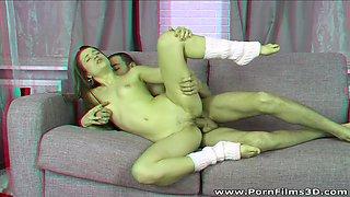 Porn Films 3D - Feeling naughty for anal