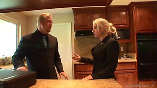 Blonde Slut Sammie Spades Gets Fucked By The Boss