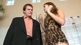 Babysitter Allie Haze Seduces Her Boss's Date