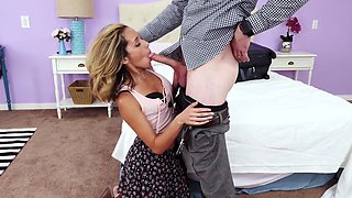 panty sniffing uncle gets sucked off