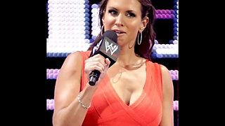 WWE Stephanie McMahon jerk off