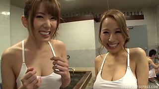 Wild pounding of a beautiful lascivious Japanese babe