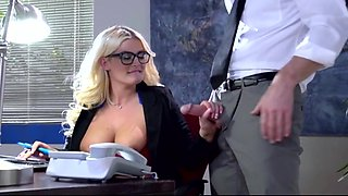 Julie Cash Busty Secretary