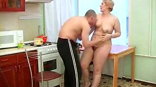 Amazing Kitchen, Grannies porn video