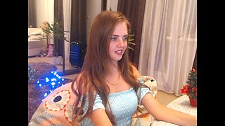 Natural Boobs Innocent Russian Stripping P1