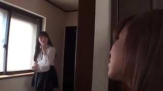Busty Jap Mom Invited NOT a daughters friend to home