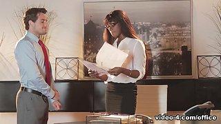 Amazing pornstar Ana Foxxx in Hottest Secretary, Facial xxx movie