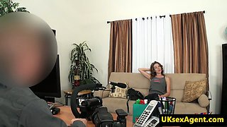 Bigtits casting babe fucked by a midget