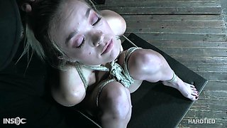 Katie Kush enjoys being dominated and tied up and she's got a nice ass