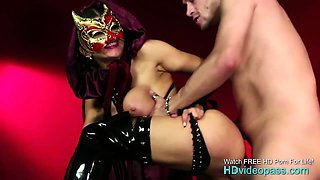 The devil mistress tests her new servant