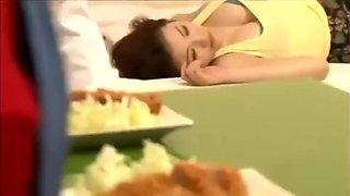 Azumi Miz fucks while sleeping