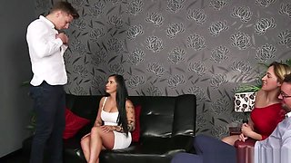 Cfnm Milf Sucks Cock And Gets Jizzed On