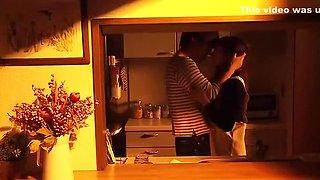 Crazy amateur Blowjob, Kitchen sex video