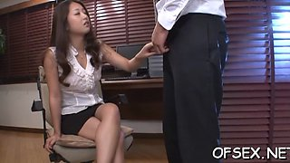 Asian fucked by coworkers