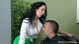 bitchy boss jayden jaymes seducing her co-worker keiran lee
