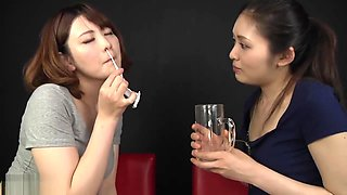 Jav Lesbian Snort Eating And Spit Swallow Feti072