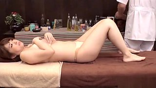 Erotic massage by Asian master