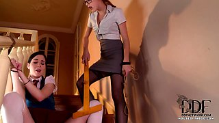 Naughty Student Gets Spanked