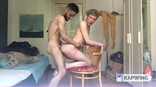 HUGE ARAB COCK IN TINY ASS