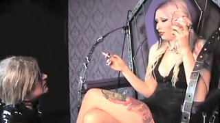 Exotic amateur Smoking, Tattoos porn scene