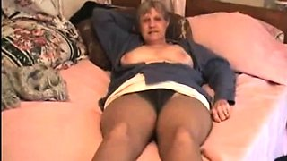 Mary on bed
