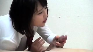 Japanese av model in school uniform hardcore orgy