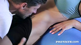 Private silvia dellai from yoga to anal with the flexible silvia dellai 1080