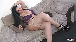 Big Boobed Anastasia Lux Juggs And Muff Fun