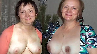 Dressed Undressed! Mature Mom and not daughter! Animation!