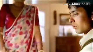 Aunty sex and romance with her step husband bollywood